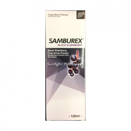 Samburex Black Elderberry 120ml